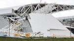 إنهيار رافعة بملعب ساو باولو بالبرازيل يخلف قتيلان