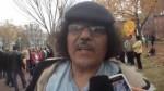 معارض مغربي يتظاهر أمام البيت الأبيض