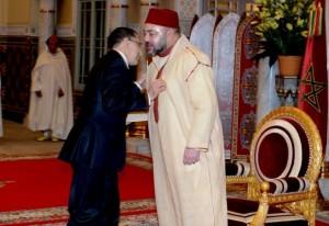 بالفيديو..الملك يستقبل العثماني