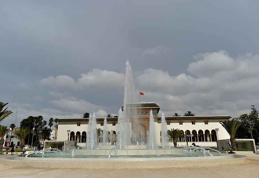 ساحة-محمد-الخامس-في-حلة-جديدة-تصوير-رزقو-4 - Copie