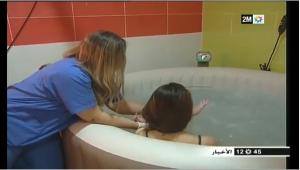 لأول مرة في المغرب..إجراء عملية ولادة تحت الماء بمدينة آسفي- الروبرتاج