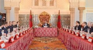 الملك يترأس مجلسا وزاريا بالقصر الملكي بالرباط