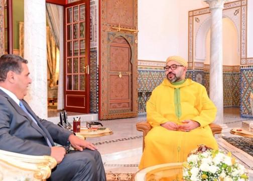 الملك يستقبل أخنوش في مراكش ويكلفه بمهمة