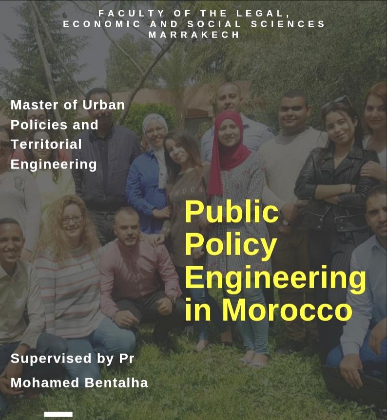 """كلية الحقوق بمراكش تنفتح على التجربة الأنجلوساكسونية في الدرس القانوني بندوة """"هندسة السياسات العمومية بالمغرب"""" بتأطير من الدكتور بنطلحة"""
