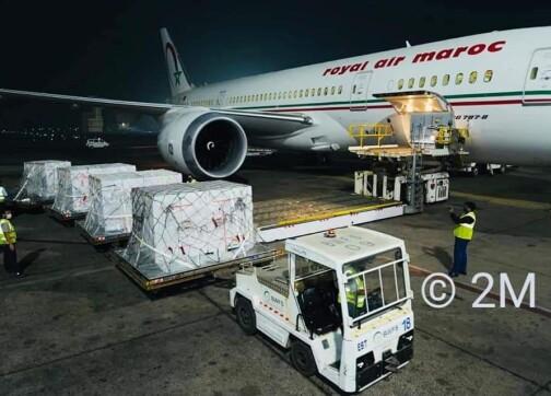 أول شحنة من لقاح أسترازينيكا في طريقها إلى الدار البيضاء -صور