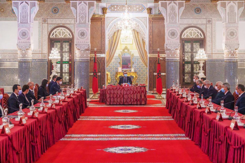 الملك محمد السادس يترأس مجلس لتدارس التوجهات العامة لمشروع قانون المالية برسم سنة 2022